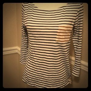 Old Navy long sleeve striped tee
